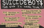 Image for $UICIDEBOY$ - The End Is Near Tour