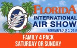 Image for Family 4-Pack - Saturday or Sunday (November 2nd or 3rd)