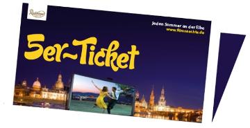 Image for 5er-Ticket - Filmnächte am Elbufer