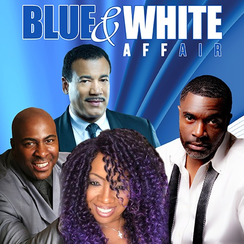 Image for DMS PRODUCTIONS presents BLUE & WHITE AFFAIR with JEFF REDD, MELI'SA MORGAN, CAPONE and more
