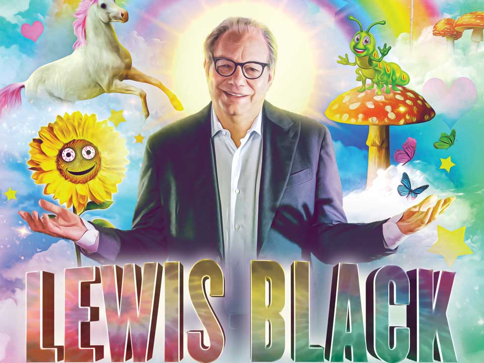 Image for LEWIS BLACK - Friday, January 31, 2020