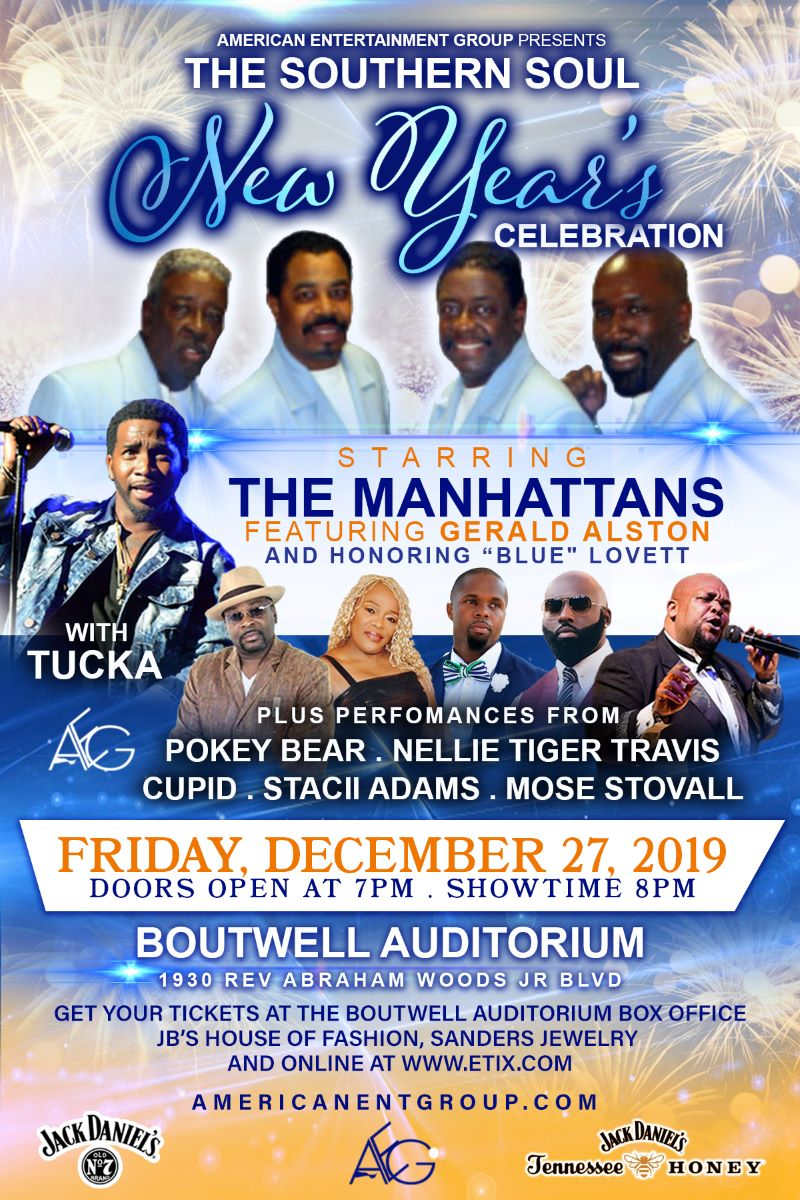 Image for AEG Presents - Southern Soul New Year's Celebration