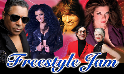 FREESTYLE JAM w/Stevie B, Trinere, Debbie Deb, Connie, Nu Shooz