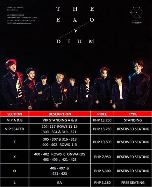 EXO-TicketPrices